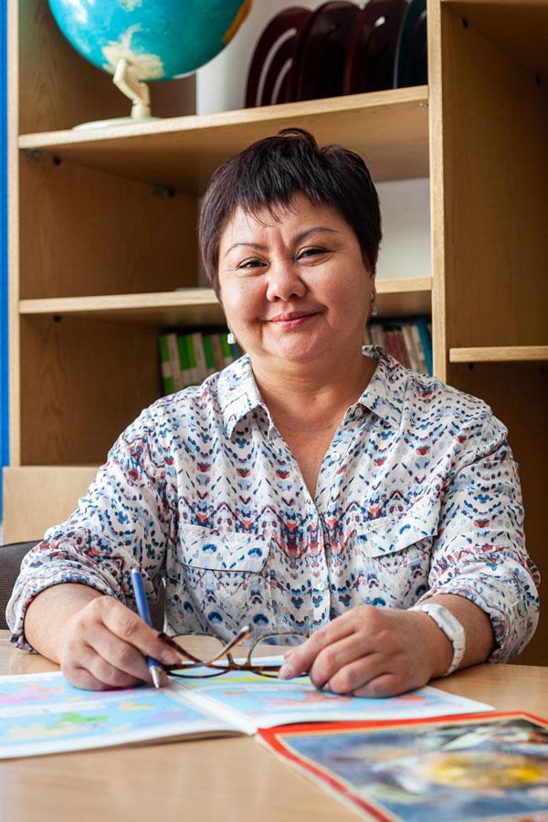 Сергазина Светлана Сериковна - Учитель географии