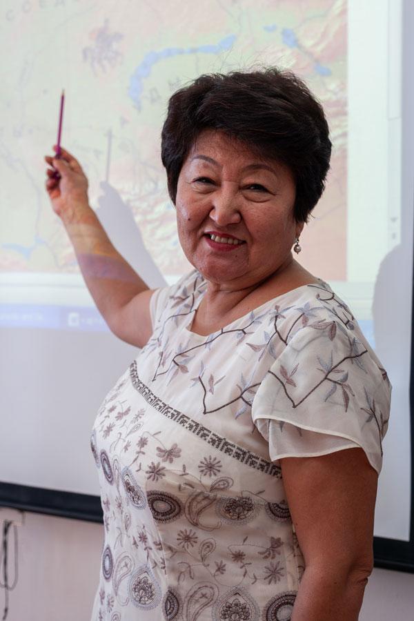 Тлеуленова Ризван Идеятовна - Учитель истории.