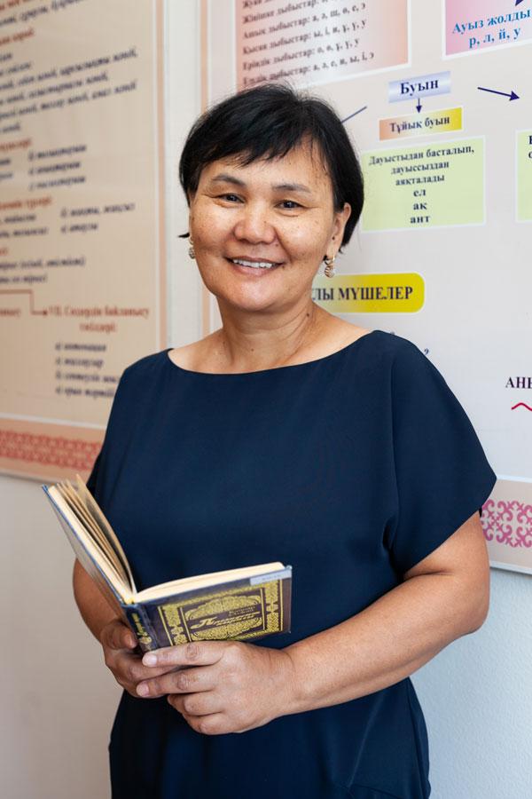 Мамырбекова Алия Гадыловна - Учитель разговорного казахского языка.